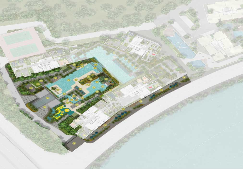 The Infiniti D7 Site Plan